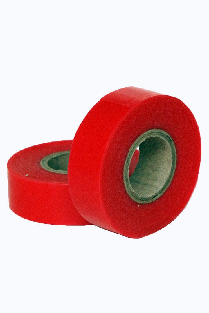 adhesivo rojo rollo 5mt