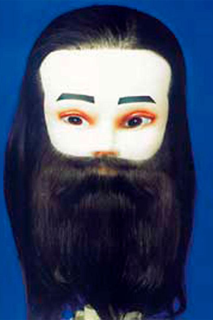 maniquí de hombre con barba-18cm