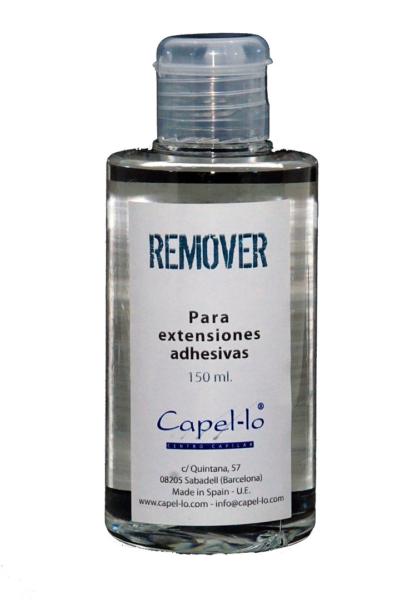 Removedor adhesivo para extensiones