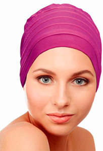 turbante fucsia