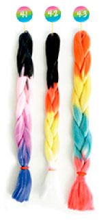 Colores extensiones fibra k-braids