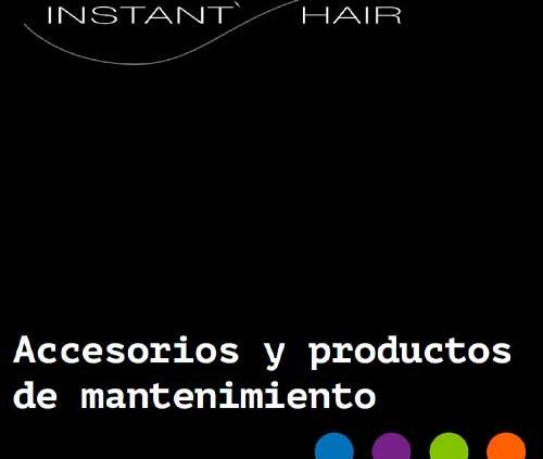 portada accesorios y productos de mantenimiento