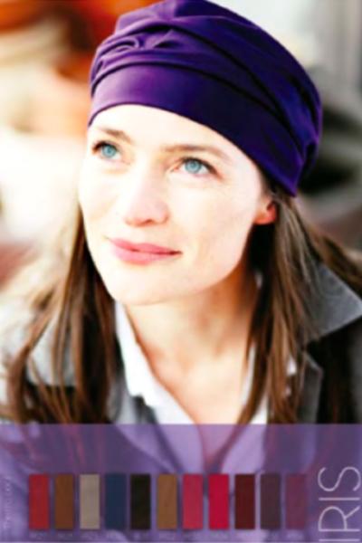 turbante iris