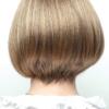 Vista trasera de la peluca Erin de la colección Amore