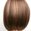 Vista trasera de la peluca Erika de la colección Amore