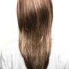 Vista trasera de la peluca Miranda de la colección Amore