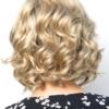Parte trasera de la peluca Reign de la colección Amore
