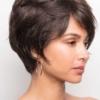 Parte lateral de la peluca Casey de la colección Amore