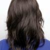 Parte trasera de la peluca Hayden de la colección Amore