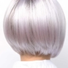 Vista trasera de la peluca Kensley de la colección Amore
