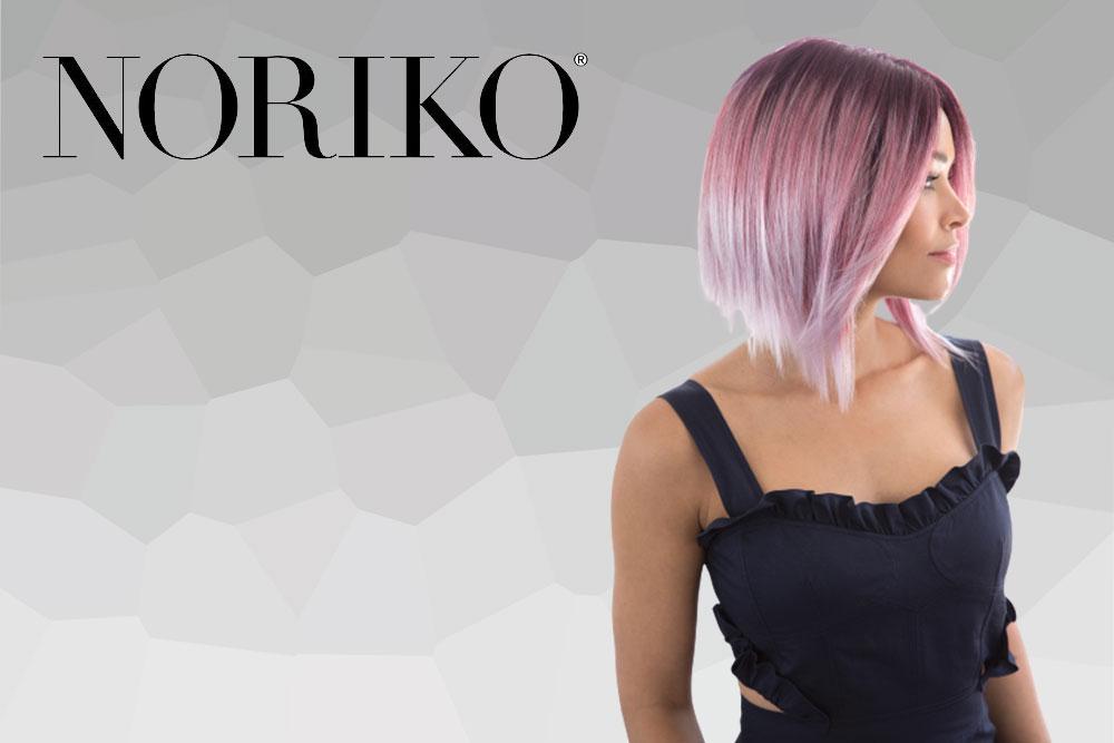 menú colección pelucas Noriko