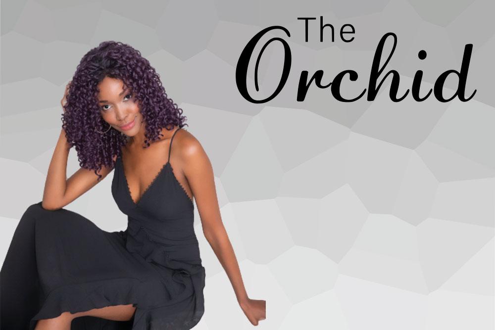 menú colección pelucas The Orchid