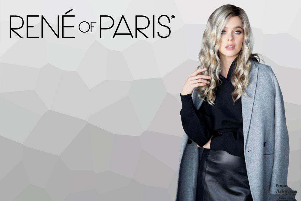 menú colección pelucas René of Paris
