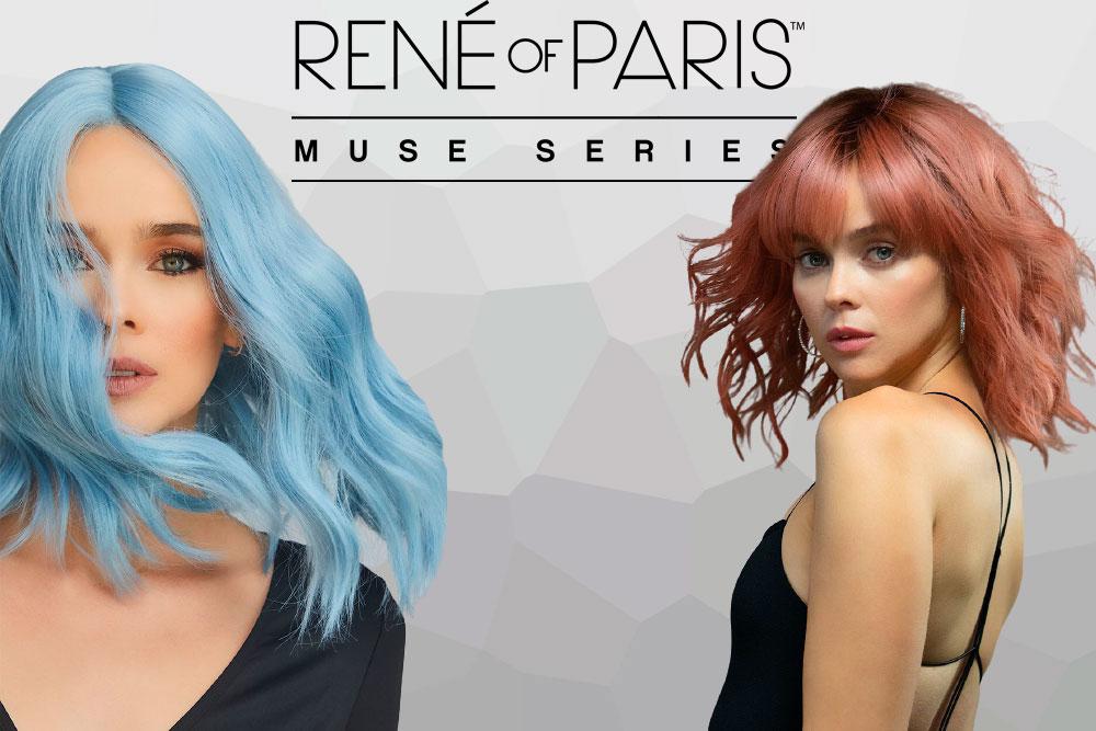 menú colección pelucas Muse Series