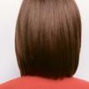 peluca alva de cabello sintético