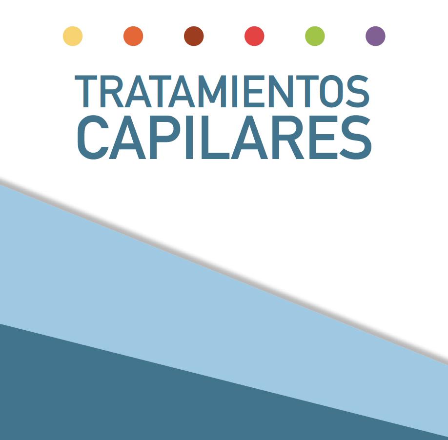 Portada del catálogo de tratamientos capilares