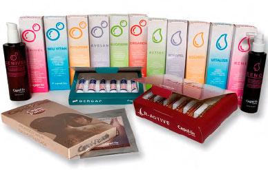 Productos de tratamientos capilares