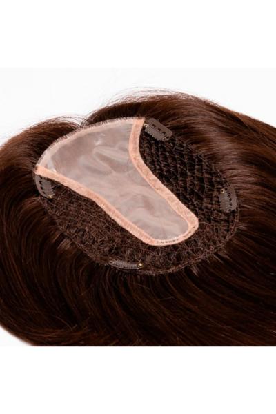 Postizo Luxury Net Top Frontde 22 cm de cabello natural de la colección Fair Fashion